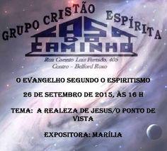 Grupo Cristão Espírita Casa do Caminho Convida para a sua Palestra Pública – Belford Roxo – RJ - http://www.agendaespiritabrasil.com.br/2015/09/24/grupo-cristao-espirita-casa-do-caminho-convida-para-a-sua-palestra-publica-belford-roxo-rj-21/
