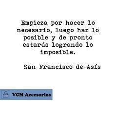 Frase de San Francisco de Asís