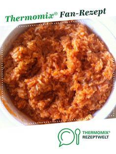 Tomatenreis - super lecker von Thermosumsi. Ein Thermomix ® Rezept aus der Kategorie Beilagen auf www.rezeptwelt.de, der Thermomix ® Community.