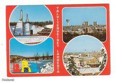 Postcard Lahti, Finland 1978