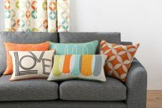 Buy Overlapping Pebble Cushion from the Next UK online shop