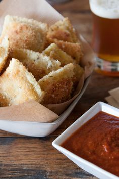 Fried Ravioli - Quite simply, it's whatever kind of ravioli you like, breaded and fried. Simple. Easy.