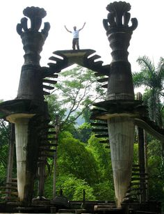 Las Pozas, Xilitla, Mexico by paula soler-moya, via Flickr - the Surrelist garden of Sir Edward James