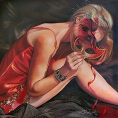 Kathrin Longhurst | German Figurative Painter | Ladies