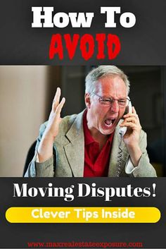 What Are The Major Disputes to Avoid With Moving Companies:  http://www.maxrealestateexposure.com/moving-company-disputes/ #realestate