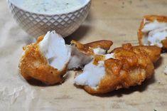 Gluten-Free Beer Batter-Fried Fish Sticks using Cassava-Flour, fish sticks recipe, gluten-free fish sticks recipe, beer batter fried fish recipe