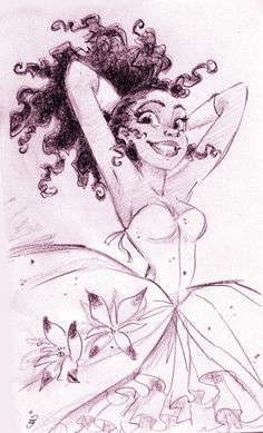 Buzzfeed Reimagines Disney's Princess Tiana with Loose Natural Hair