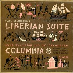 Ellington Liberian Suite Jim Flora cover by anyjazz65, via Flickr