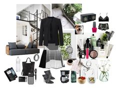 """Get ready for work"" by nathalie-puex ❤ liked on Polyvore featuring philosophy, Antipodes, LSA International, Prism, Prabal Gurung, Polaroid, Lancôme, Alexander Wang, Nixon and Black Apple"
