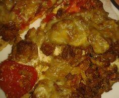 Rezept Hackfleisch-Schmand-Pizza von Julemand - Rezept der Kategorie sonstige Hauptgerichte