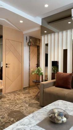 Living Room Partition Design, Living Room Tv Unit Designs, Ceiling Design Living Room, Decor Home Living Room, Bedroom Bed Design, Home Room Design, Apartment Interior Design, Luxury Interior Design, Luxurious Bedrooms