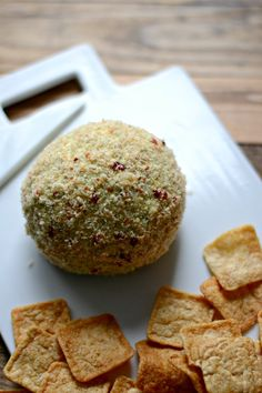 Spinach Artichoke Cheese Ball #appetizer