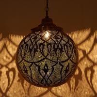 Messinglampe Taj #OrientalischeLampe #Marokkanischelampe #Silberlampe #Casamoro #Marrakesch #Orient