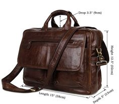 Luxury men bag genuine leather handbag men briefcase laptop bags big capacity male shoulder bags