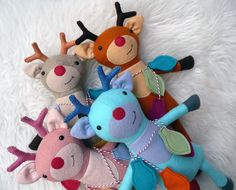 Ripley the Reindeer PDF Sewing Pattern www.frazzydazzles.com Frazzy Dazzles the gentle art of making