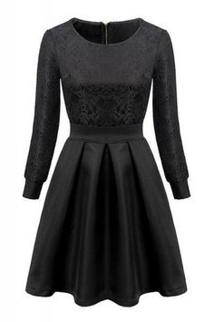long sleeve dresses are really hard to find....this is one is super cute... <3