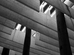 Pabellón nórdico para la Bienal de Venecia  Sverre Fehn  1958