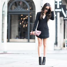New blog post [link in bio!] Toughening up a structured LBD with some spikes! More details on www.wendyslookbook.com | @liketoknow.it www.liketk.it/2n6mQ #liketkit▪️