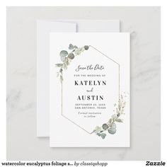 Save The Date Invitations, Save The Date Cards, Custom Invitations, Invites, Rustic Bridal Shower Invitations, Bridal Shower Rustic, Wedding Invitations, Modern Wedding Save The Dates, Floral Invitation