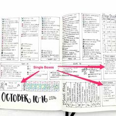Weekly Spreads: An Actionable Guide to Boost your Journal Monthly Bullet Journal Layout, Daily Bullet Journal, Bullet Journal Tracker, Bullet Journal Hacks, Bullet Journal Printables, Bullet Journal How To Start A, Bullet Journal Notebook, Journal Template, Bullet Journal Spread