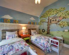 Tête de lit -crayons pour chambre d\'enfant   Tête de lit   Pinterest ...