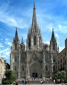 La Catedral, art gótic, s. XIII, Barcelona, Catalonia