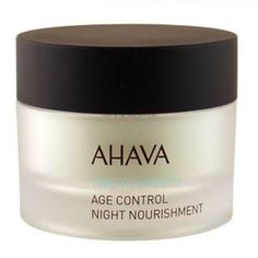 AHAVA Dead Sea Age Control Night Nourishment. Dead Sea Cosmetics.