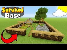 "http://minecraftstream.com/minecraft-tutorials/minecraft-tutorial-how-to-make-a-small-survival-base-survival-base/ - Minecraft Tutorial: How To Make A Small Survival Base ""Survival Base"" Hidden Base Playlist – https://www.youtube.com/playlist?list=PLVfyBBWTXosC6Ps-CHQxpQ6Df2tg3jyNg In this tutorial i show you how to make this awesome small survival base! this is perfect for if you've just started or have made a brand new world! its easy to make and is a great go"