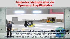 Instrutor Multiplicador de Operador Empilhadeira