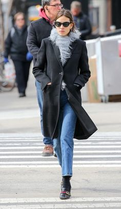 """chungit-up: """" Alexa Chung out and about in New York City 