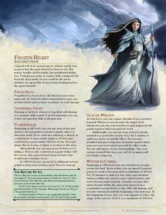 Frozen Heart Sorcerer by belithioben