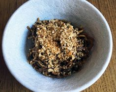 This Spicy Black Garlic Pasta Is as Death Metal as Dinner Gets