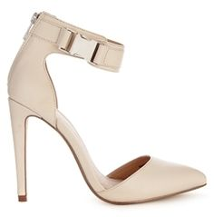 Asos PRAISE High Heels - White on shopstyle.co.uk