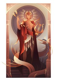 Apollo ~ Greek Mythology by Yliade on DeviantArt Apollo Greek Mythology, Roman Mythology, Foto Online, Greek Gods And Goddesses, Goddess Art, Moon Goddess, Artemis Goddess, Lore Olympus, Ancient Egypt