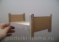 Кукольный домик из картона. Делаем своими руками для любимых кукол | podelki-doma.ru Magazine Rack, Barbie, Cabinet, Storage, Furniture, Home Decor, Hand Crafts, Carton Box, Clothes Stand