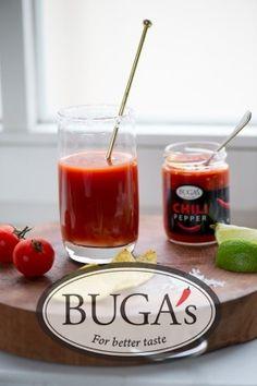 Sangrita with BUGA's Chili Pepper | BUGA's