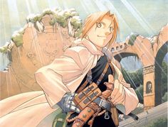 "iamwhatismissing: "" Fullmetal Alchemist Illustrations by Hiromu Arakawa """