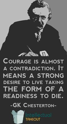 """COURAGE. Die to self daily. The only way in which the saints were able to accept martyrdom and """"lay down their lives of their own accord"""" like Christ was because they had been dying to self all their lives."""