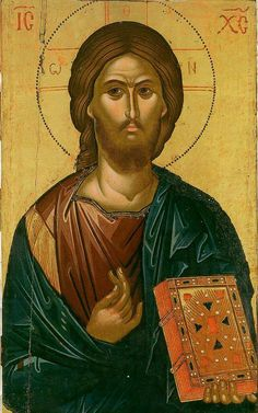 Jesus Christ, the Son of God, the Savior of the world ( source ) St. Tikhon of Zadonsk on the Love for God But let us see what th. Religious Images, Religious Icons, Religious Art, Byzantine Icons, Byzantine Art, Christus Pantokrator, Christian Artwork, Russian Icons, Religious Paintings