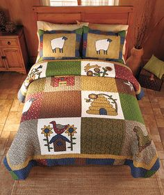 Novelty Country Quilts or Shams | ABC Distributing