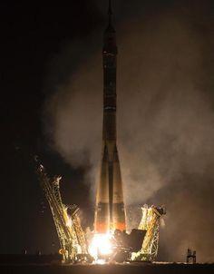 ISSへの米露宇宙飛行士が乗船した「ソユーズ」、無事打ち上げ成功   Sorae.jp : 宇宙(そら)へのポータルサイト