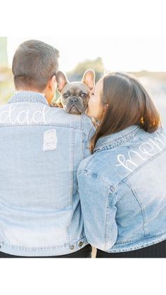 Custom Mama and Papa Jacket Baby Announcement Message, Pumpkin Baby Announcement, Beach Pregnancy Announcement, Expecting Baby Announcements, Baby Announcement Photos, Maternity Jacket, Baby Due Date, Baby Jeans, Mamas And Papas