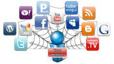 Liên kết website với các mạng xã hội