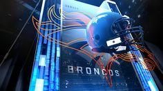 Sports motion graphic design Thursday Night Football Promo - Mike Arcangeli