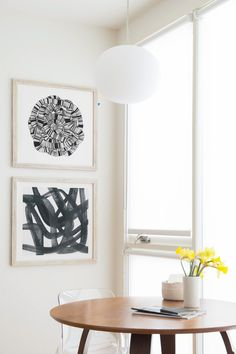 The Modern Minimalist Collection - Bold Abstract works of art from the Minted artist community.