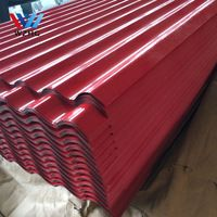 Blue Green Wine Red Ral Color Coated Corrugated Gi Sheet Metal Roof Sheet Prepainted Corruga Sheet Metal Roofing Corrugated Metal Roof Steel Roofing Sheets