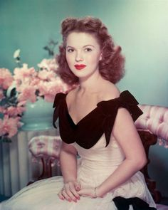 Shirley Temple - may she rest in peace.