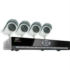 SVAT Electronics 8-Channel Smart DVR System 4 Indoor/Outdoor Hi-Res CCD Night Vision Cameras by SVAT Electronics. $427.49. H.264 video compression lets you record over 1000 hours of continuous footage and save valuable hard drive spaceLet the coaching iMenu teach you about the DVRs different settings and featuresView video online with no service fees from any computer in the worldCompatible with Windows Mobile Symbian operating systems and iPhone s Includes IR remot...