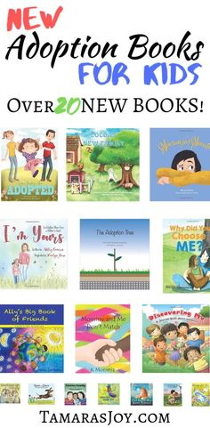 Over 20 NEW Adoption Books for Kids! This List will help you fill your children's library up with all sorts of amazing new adoption books for kids! Adoption Books, Open Adoption, Foster Care Adoption, Adoption Gifts, Adoption Stories, Foster To Adopt, Kids Sleep, Baby Sleep, Child Sleep