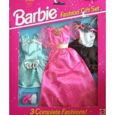 Barbie Fashion Gift Set 3 Complete Fashions Easy To on PopScreen
